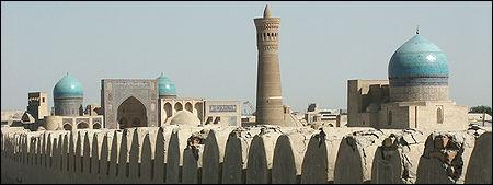 Commençons ce voyage en Ouzbékistan avec le centre historique de Boukhara. En quelle année ce lieu a-t-il été inscrit au patrimoine mondial de l'UNESCO ?