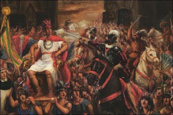Quel dernier empereur Inca, a été capturé et exécuté par le conquistador Francisco Pizarro lors de la bataille de Cajamarca en 1532 ?