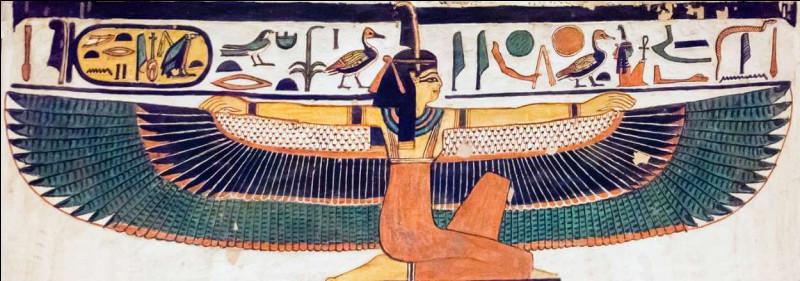 Quelle est la déesse de la paix, de la vérité et de la justice ?