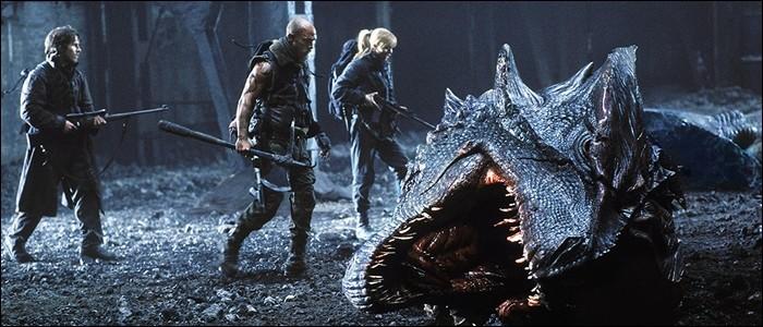 Quel est le titre de ce film, réalisé par Rob Bowman, dans lequel le réveil des dragons est à l'origine de la fin du monde ?