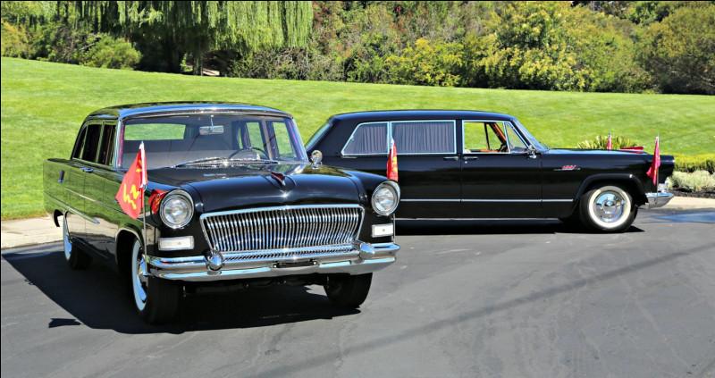 Nous clôturons ce quizz avec celle qui fut la pionnière de l'industrie automobile en Chine et la voiture officielle du Parti communiste chinois. Quel est ce modèle symbolique ?