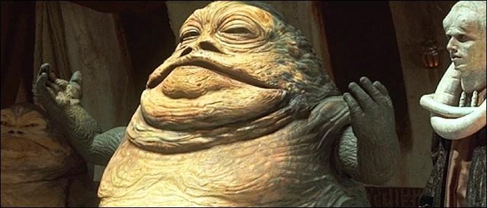 Dans «Star Wars», quelle créature dégoutante enchaîne la jolie princesse Leia ?