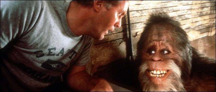 Chez qui se réfugie Bigfoot dans un film de 1987 ?
