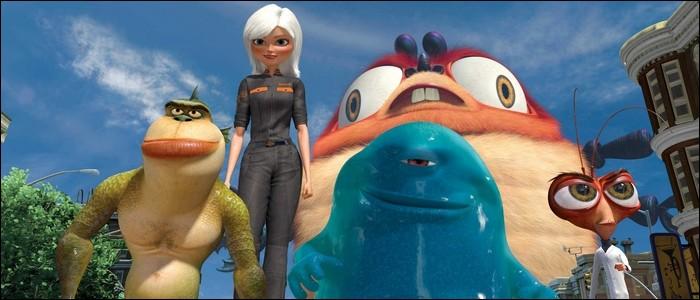 Dans « Monstres contre Aliens», lequel de ces gentils monstres n'est pas envoyé pour combattre les méchants extra-terrestres ?