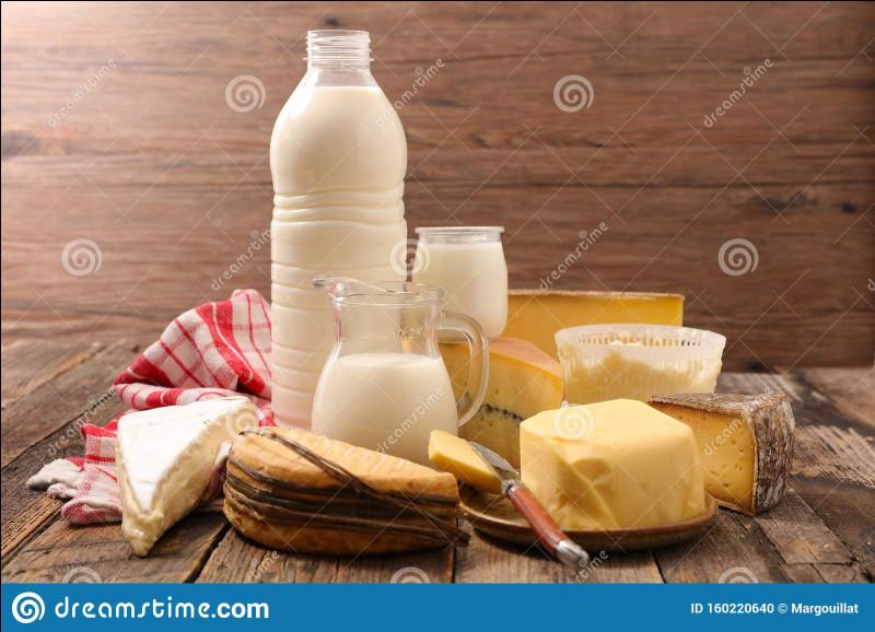 Combien de produits laitiers doit-on prendre par jour ?
