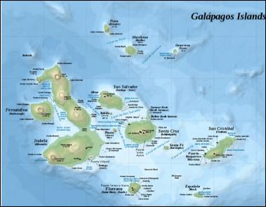 À quel pays, les îles Galápagos sont-elles liées ?
