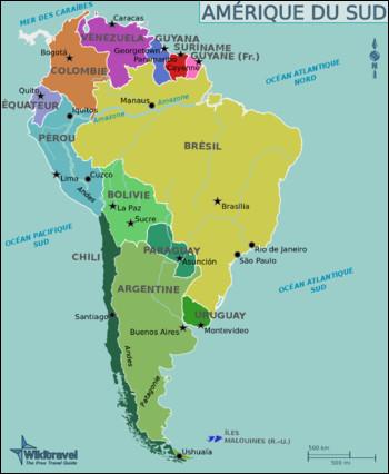 Combien de pays indépendants, l'Amérique du Sud compte-t-elle ?