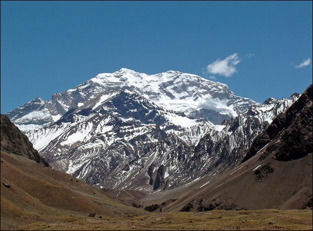 Dans quel pays, l'Aconcagua (6 962 m), plus haut sommet d'Amérique du Sud se trouve-t-il ?