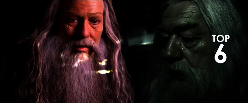 6) Abelforth DumbledoreIl perd son père, sa mère puis sa sœur alors qu'il est ado, et puis sa vie s'étire lentement et son chagrin s'agglutine...