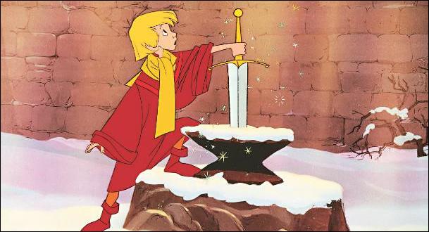 """Quel est le surnom donné à Arthur dans le film """"Merlin l'Enchanteur"""" ?"""