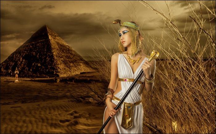 """Après l'assassinat de son mari, cette femme surnommée """"la fille aux cheveux d'or"""", décidera de se faire couronner Reine d'Égypte (2152 à 2150 av J. -C). Qui est-elle ?"""