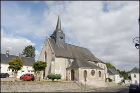Commune du Centre-Val-de-Loire, en Gâtine Tourangelle, Prunay-Cassereau se situe dans le département ...