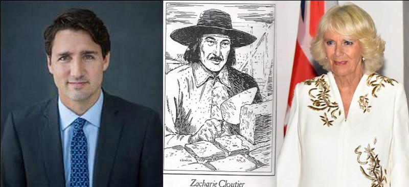 Personnalités : Connaissez-vous Zacharie Cloutier ? Je ne le pense pas ! Cet homme a deux caractéristiques (et on pourrait dire, largement plus) qui peuvent nous le rendre assez sympathique à nous Français (et pas que nous). Ce Français a émigré dans la « belle province ».Quelles sont ces deux de ses caractéristiques parmi beaucoup d'autres ?