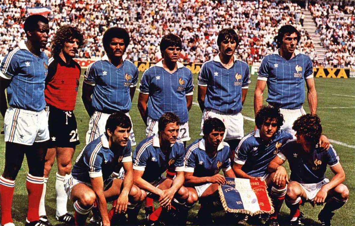 Effectif de l'équipe de France 1982 (1)