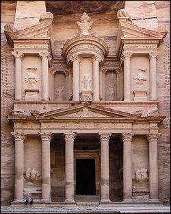 Site incontournable de Jordanie : Pétra. Vers quelle année cette cité a-t-elle été construite ?