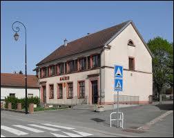 Commune Haut-Rhinoise, Chavannes-sur-l'Étang se situe en région ...