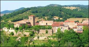 Village Altiligérien, Malvières se situe en région ...