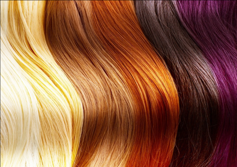 De quelle couleur sont tes cheveux ?