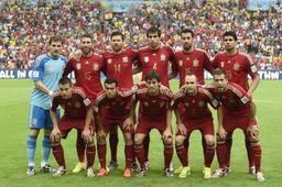 L'Espagne durant la Coupe du monde 2014