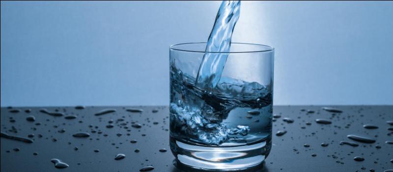 On n'a pas besoin de boire de l'eau tous les jours.
