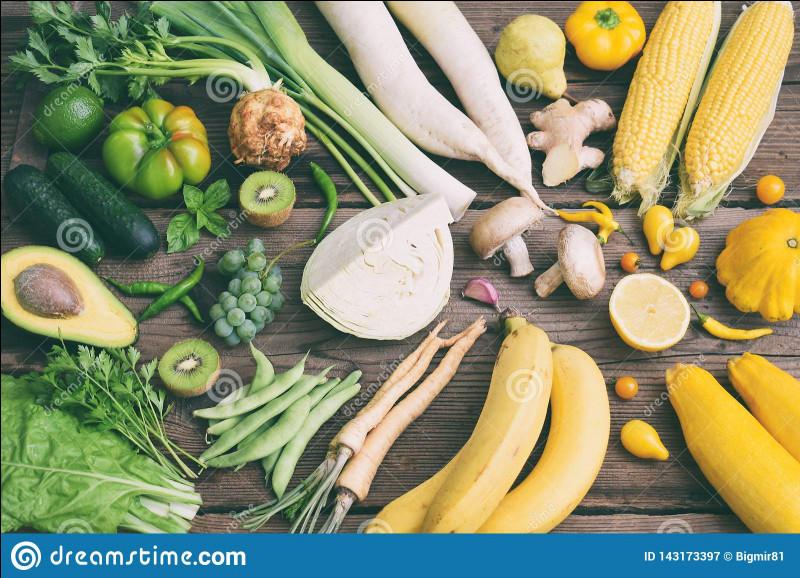 Les légumes contiennent des vitamines.