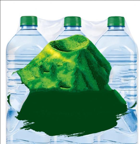 C'est une marque d'eau vendue en bouteille commercialisée depuis 1935. Elle appartient au groupe agroalimentaire français Danone depuis 1992. Quelle est cette marque ?