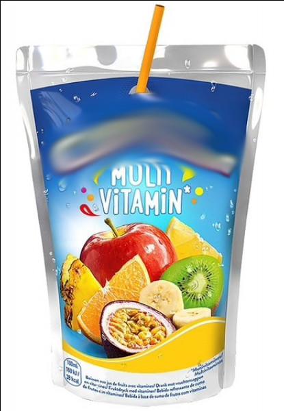 Lancée en 1969, c'est une boisson à base de jus de fruits et d'eau de source. Quel est son nom ?