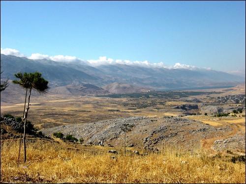 Où se trouve la plaine de la Bekaa ?