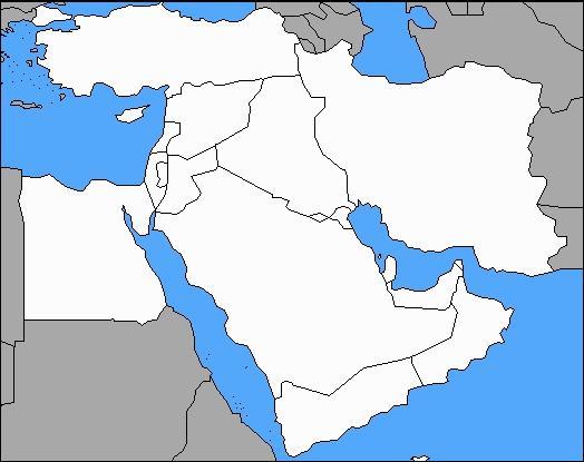 Quel pays n'a pas de frontière avec le Liban ?
