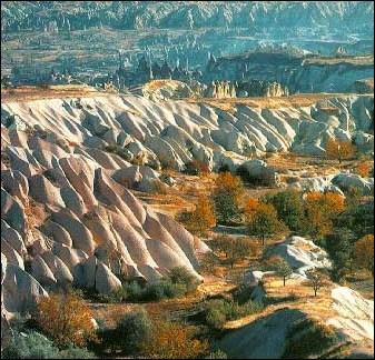 Dans quel pays se trouve la Cappadoce ?