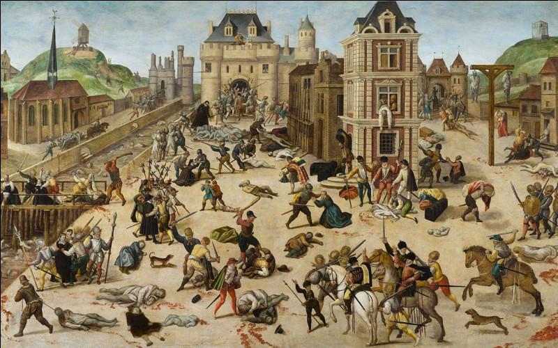 """Quel roi de France a prononcé la phrase """"Tuez-les, mais tuez-les tous pour qu'il n'en reste pas un pour me le reprocher"""" lors du massacre de la saint Barthélémy en 1572 ?"""
