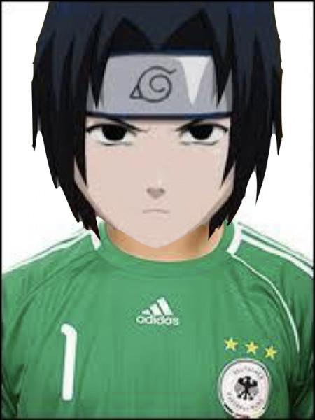 Qui est le gardien de but de l'équipe Naruto ?