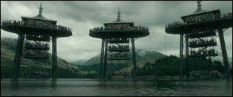 Quelles créatures attaquent Fleur et Harry dans le lac noir ?