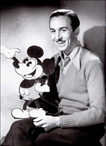 En quelle année est né (roulements de tambour) Walt Disney ?