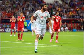 Sur quel score l'Espagne vient-elle à bout de l'Iran lors du deuxième match ?
