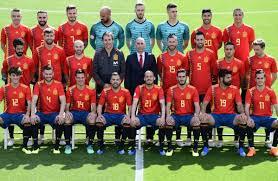 L'Espagne durant la Coupe du monde 2018