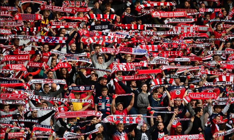 Quelle est la moyenne de spectateurs au stade Pierre Mauroy cette saison (2019/2020) ?