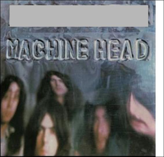 """Quel groupe de rock interprète l'album """"Machine Head"""" ?"""
