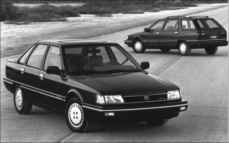 Dernier modèle d'une alliance franco-américaine, le groupe automobile qui la produisait a été racheté peu de temps après son lancement. Comment s'appelle ce modèle ?