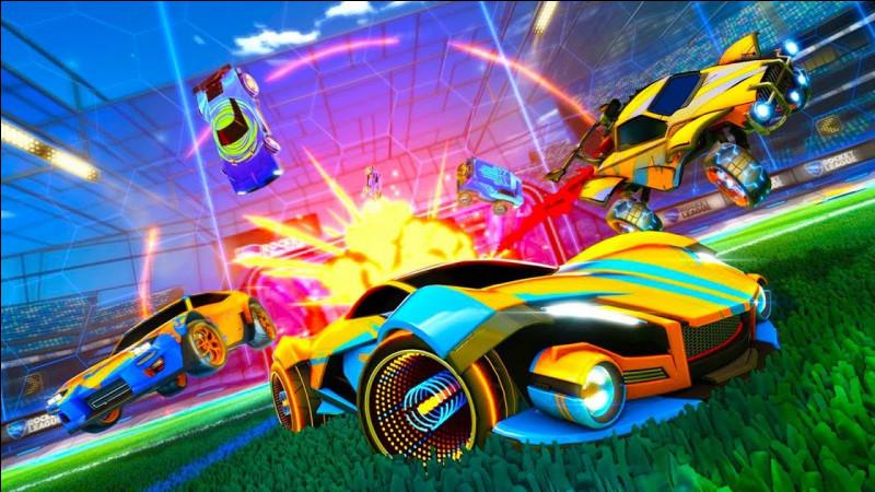 Jeu vidéo de foot et de voiture. Quel jeu vidéo suis-je ?