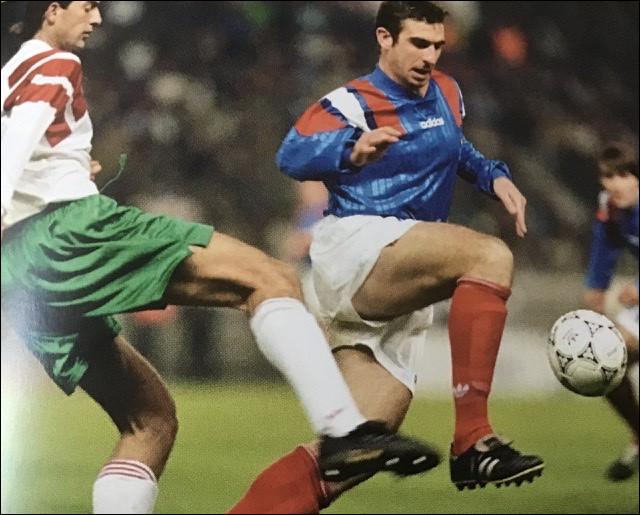 Quel était le score au terme de ce match, match qui fut remporté par les bulgares et qui empêcha l'équipe de France d'aller au mondial ?