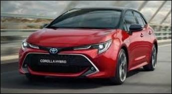 La Toyota Corolla est la voiture la plus vendue au monde.