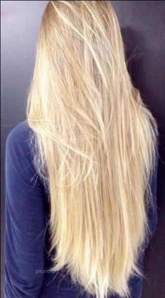 Qui a les cheveux blonds ?