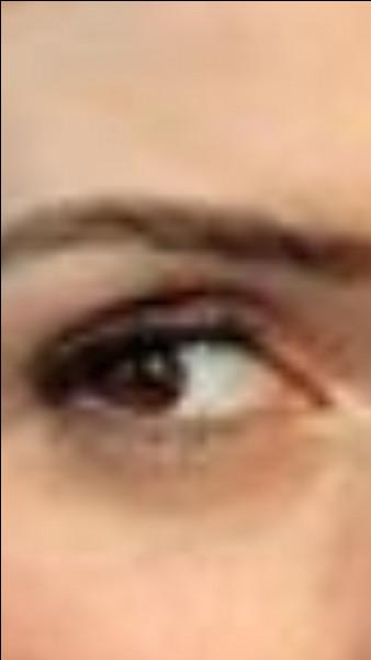 Et lui, c'est l'œil de...