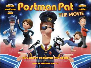 """En 2014, à quel personnage a-t-il prêté sa voix dans le film d'animation """"Postman Pat"""" ?"""