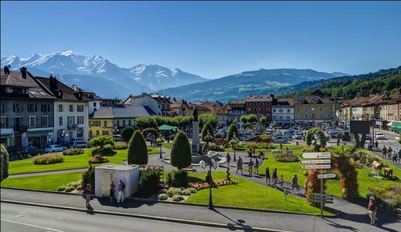 Ville de 16 000 habitants du département de la Haute-Savoie, située dans la vallée de l'Arve :