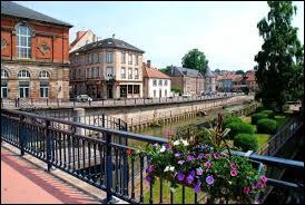Ville de 12 000 habitants du département de la Moselle, traversée par la Sarre :