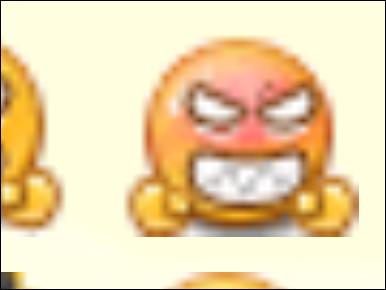 Lui, il est vraiment en colère, comment le fait-on ?