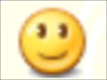 Comment fait-on le smiley normal ?