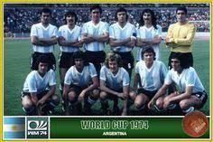 L'Argentine durant la Coupe du monde 1974